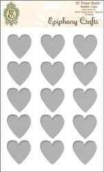 Epiphany Epoxysticker Herz 2,5 cm Clear Heart 25 SSA-17