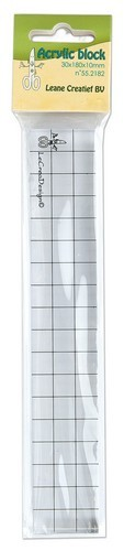 LeCrea Acrylblock 3 cm x 18 cm 55.2182