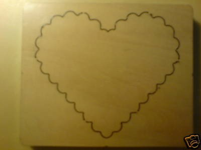 Eigendesign scalloped heart PMSF 008