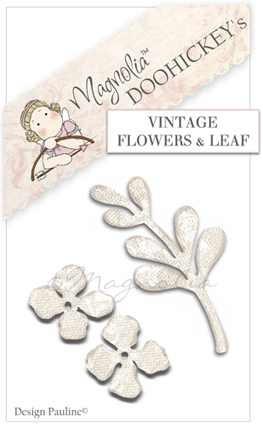 Magnolia Stanzform Vintage Flowers & Leaf Nr. 17 / M39209