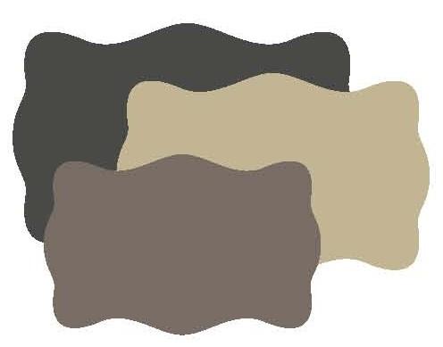 Go Kreate Stanzform Rahmen / Hintergrund Wavy # 1 151002