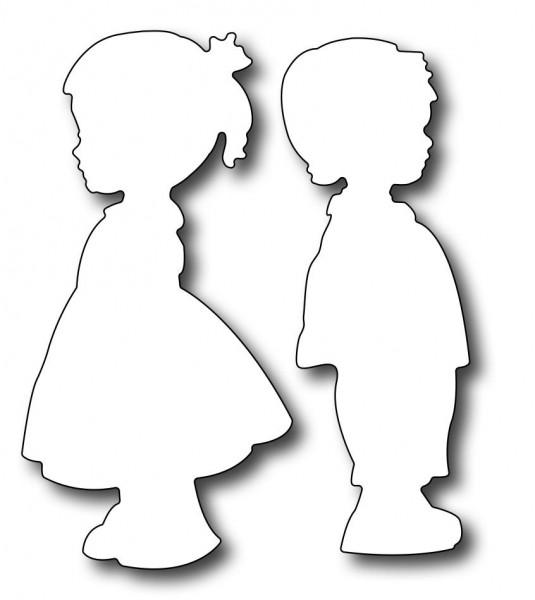 Frantic Stamper Stanzform Silhouette Kinder / Silhouette Kids FRA-DIE-09696