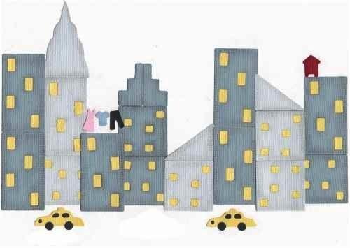 Quickutz Stanzformen Skyline Set / cityscape die set QKDS-06