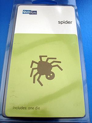 Quickutz Stanzform Spinne/ spider RS-0468