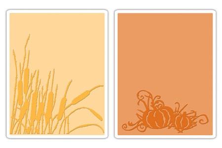 Prägefolderset Cattails & Pumpkin 656940