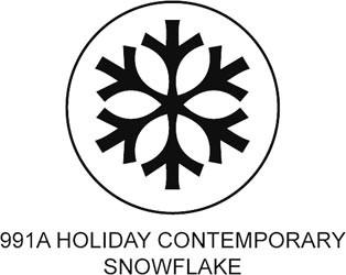Tonic Motivstanzer Holiday Contemporary Snowflake 991A
