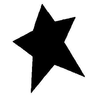 MakeMe Motivstaner medium Stern länglich 115635/5103(grün)