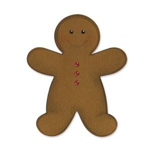 Sizzix Stanzform BIGZ Lebkuchenmännchen / gingerbread 656295