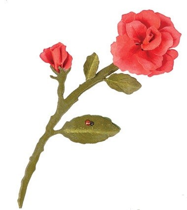 Elizabeth Craft Stanzform Garden Notes - Rose 2 998