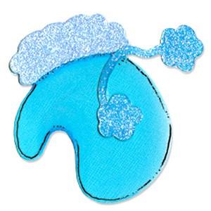 Sizzix Stanzform Originals LARGE Handschuh & Bändel / mitten & tassels 655659