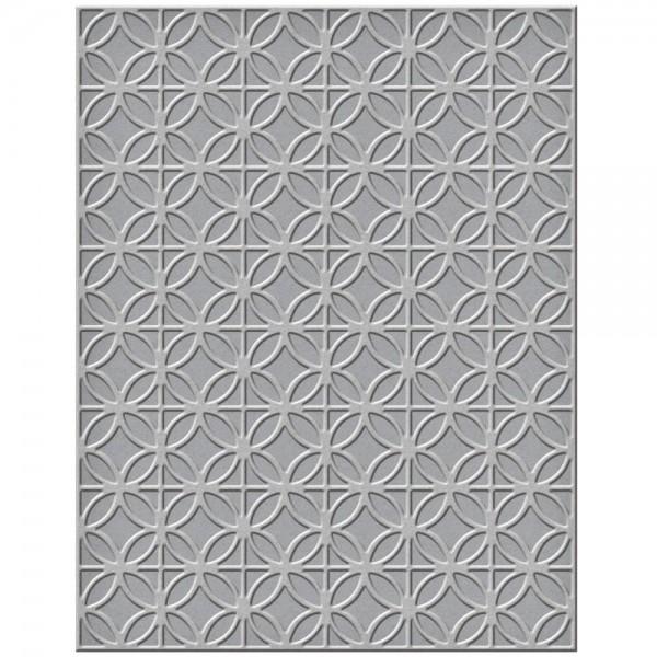 Spellbinders Embossingfolder Small Circles and Diamonds SES-006