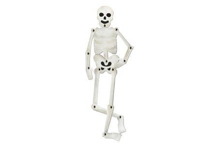 Sizzix Stanzform BIGZ Skelett beweglich / skeleton movable 656230