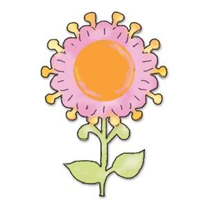 Sizzix Stanzform Originals LARGE Sonnenblume # 2 / flower sunflower # 2 655822