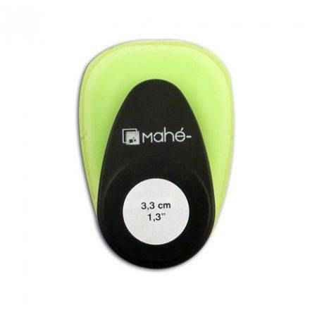 Toga Motivstanzer Medium Kreis 3,3 cm / rond OPM01 ( gift-grün/