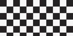 Modelierfilz SCHWARZ-WEISS-QUADRATE/Checkerboard 30,5 x 45,7 cm