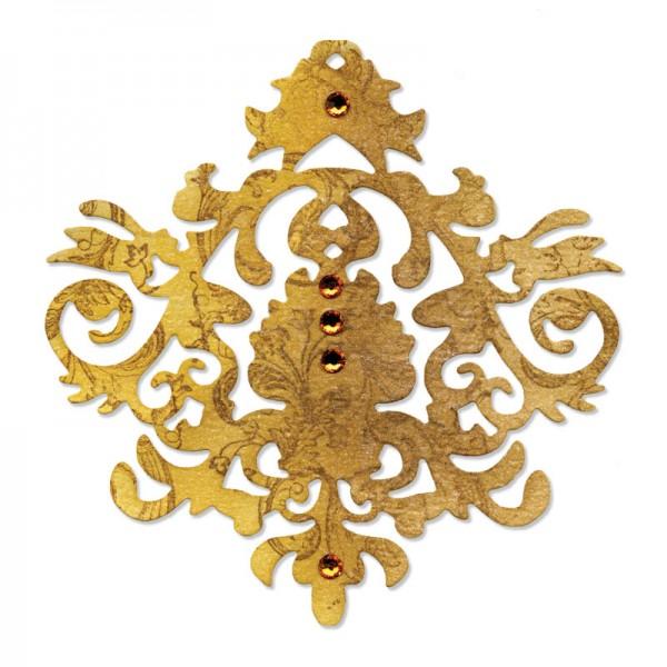 Sizzix Stanzform Sizzlits groß Baroque Ornament 657735