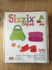 Sizzix Stanzform Originals LARGE Tasche, Hut und Schuh / purse, hat & shoe 38-0995