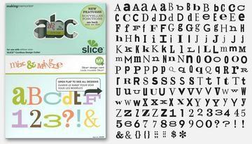 Slice Design Karte Font Mix & Mingle 33065 ( MS+ )