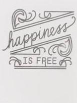 American Crafts Heidi Swapp Prägefolder Happiness 369341