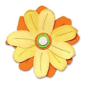 Sizzix Stanzform Originals LARGE Blume / build a flower 655974