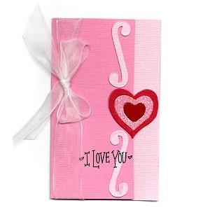 Sizzix Stanzform BIGZ Valentinskarte / Card Valentine 655689