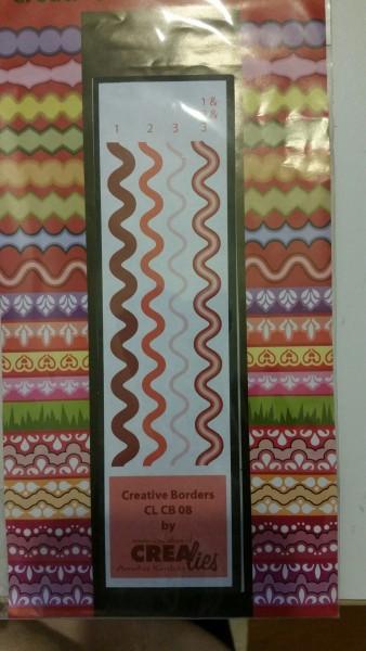Crealies Creative Borders # 8 ( ) CLCB-08