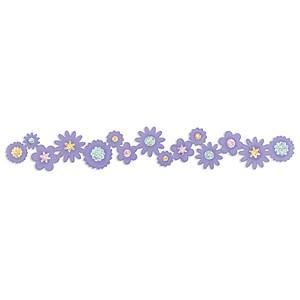 Sizzix Stanzform Sizzlits Border Blumenbouquet / flower bouquet 655956
