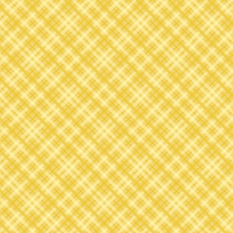 "Core'dinations Core Basics Cardstock 12 "" x 12 "" GELB Plaid / Yellow Plaid GX-2300-16"