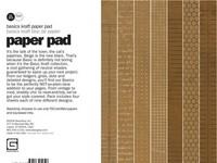 Paper Pad Basics Kraft 15,2 cm x 15,2 cm BAS-2622