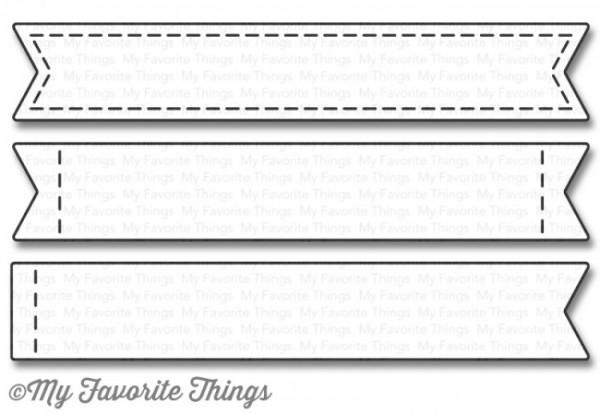 Dienamics Stanzform Stitched Sentiment Strips MFT-1028