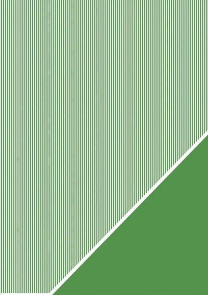 Bastelkarton Streifen A 4 PINIEN - GRÜN 80-588-430
