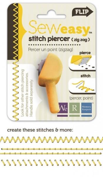 Ersatz-Kopf Stitch Piercer ZigZag 71055-4 ( gelb )