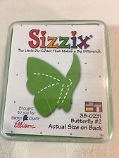 Sizzix Stanzform Original SMALL Schmetterling # 2 / butterfly # 2 38-0231