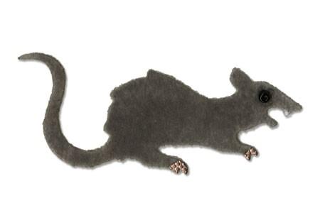 Sizzix Stanzform Originals MEDIUM Ratte / rat 656750