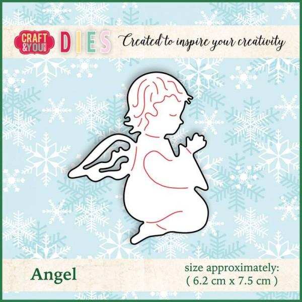 Craft & You Design Stanzform Engel / Angel CW009