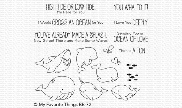 My Favorite Things Clearstempel-Set Fische / Friends With Fins BB-72
