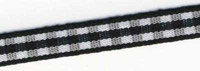 Karoband, 6,3 mm, SB-Rolle 10 m, SCHWARZ 55-407-01