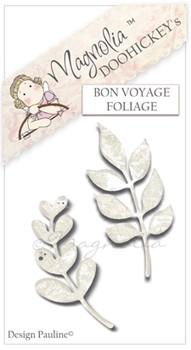 Magnolia Stanzform Blätter / bon Voyage Foliage Nr. 6 / M39070