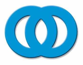 EK Success Hebel-Motivstanzer Duo Circle Buckle PSM99C(blau )