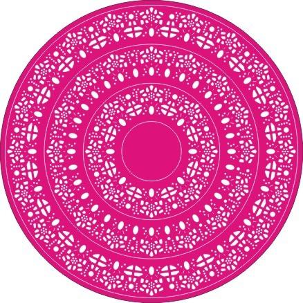 Cheery Lynn Doily Stacker Circles 1, 2 3 DL164