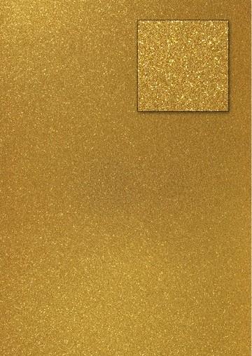 Glitterkarton DUNKELGOLD A 4 653002/0101 / 18930101