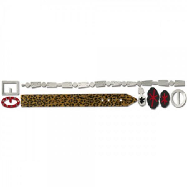 Sizzix Stanzform Sizzlits Border Gürtel u. Schnallen / belts & buckles 654893 / 22500