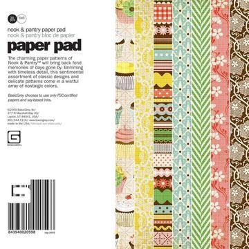 Paper Pad Nook & Pantry paper 15,2 cm x 15,2 cm NAP-2059