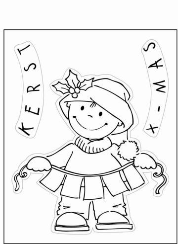 Clear Stamps Weihnachtsjunge EC0101