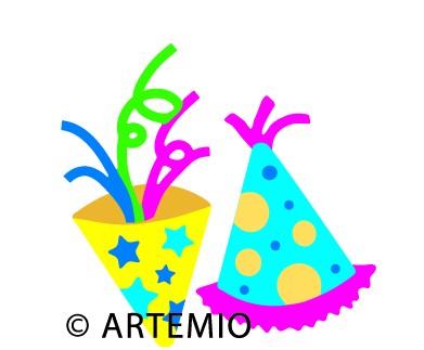 Artemio Happycut Stanzform 6,8 x 6,8 cm Partyhut / party hat 18022004