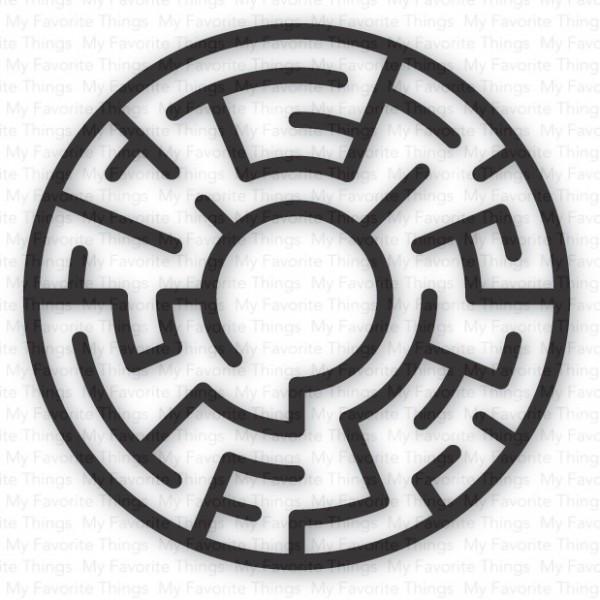 Dienamics Plastik-Labyrinth KREIS SCHWARZ / Maze Shapes - BLACK SUPPLY