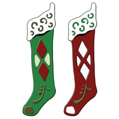 Spellbinders Stanzform Nikolaussocken / festive stockings S3-142