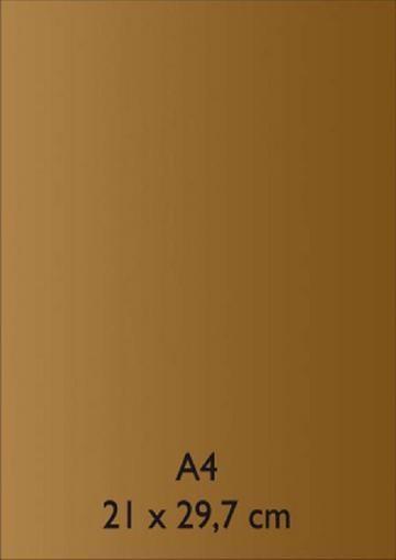Pearl Papier PeelOff A 4 GOLD mit Klebefolie 652000/1060 / 2118881060