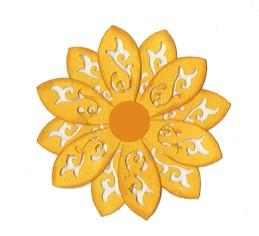 Blume floral / flourish flower 0389