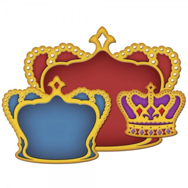 Spellbinders Stanzform nested Kronen / nested crowns S4-297